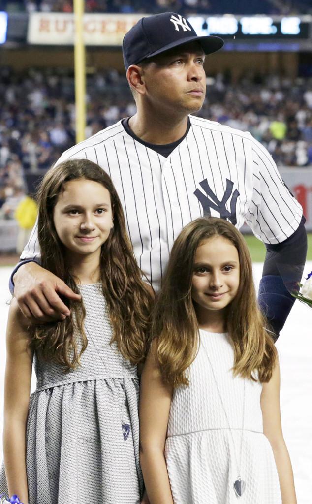 Alex Rodriguez, Natasha, Ella