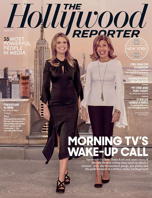 The Hollywood Reporter, Hoda Kotb, Savannah Guthrie