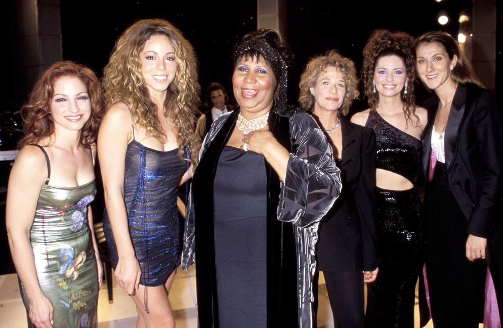 VH1 Divas Live, 1998, Gloria Estefan, Mariah Carey, Aretha Franklin, Carole King, Shania Twain, Celine Dion