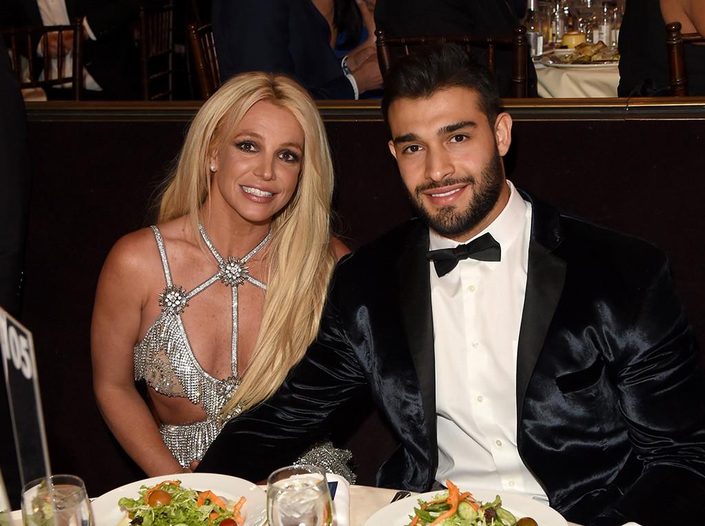 Britney Spears, Sam Asghari, 2018 GLAAD Media Awards