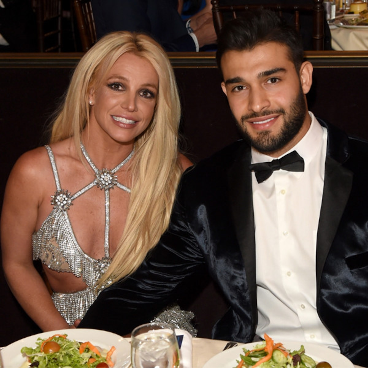 Britney And Fitness Model Sam Asghari Take Their - ōɳLy