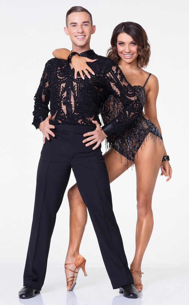 Adam Rippon, Jenna Johnson, DWTS