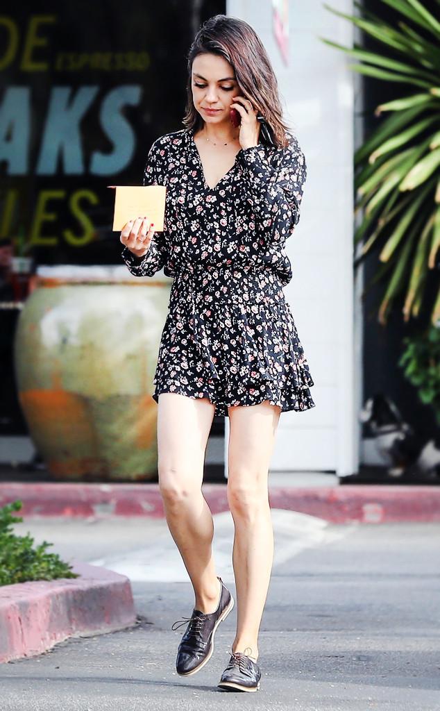 Saturday Savings Mila Kunis On Sale Dress Is For Lazy Sunny Days