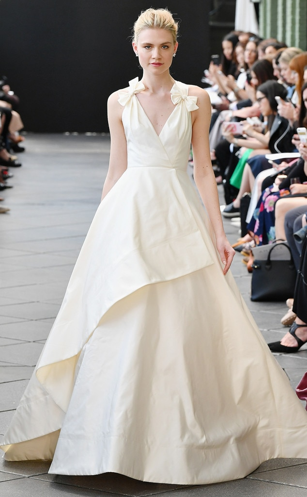Amsale Tribute From Best Looks From Bridal Fashion Week Spring 2019