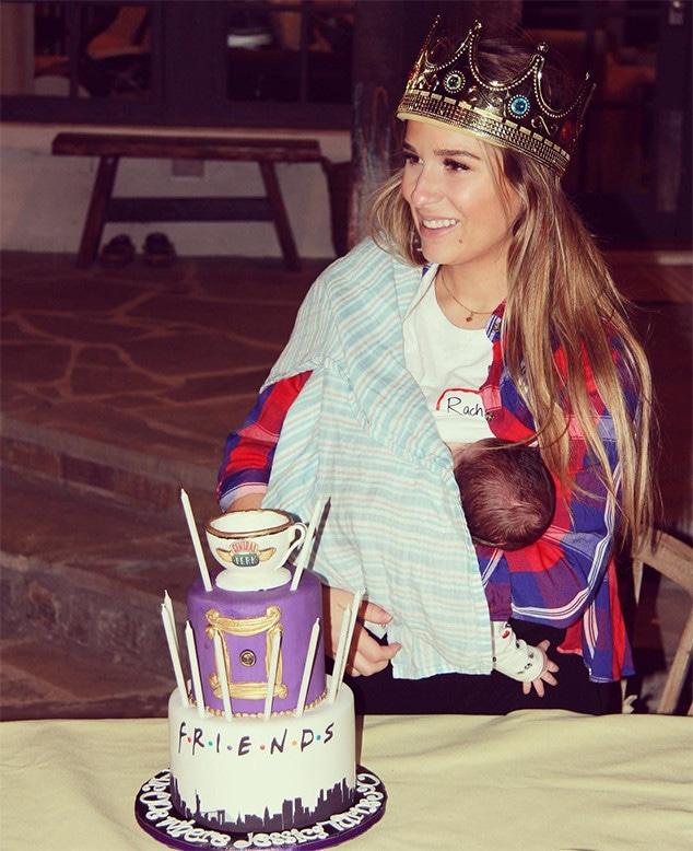 Jessie James Decker, Friends, Birthday, Breastfeeding, Son, Baby