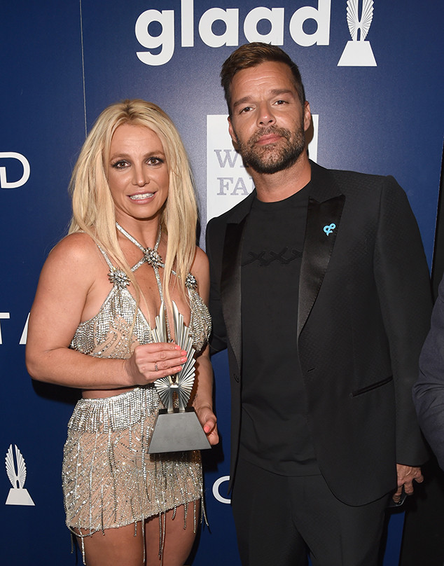 Britney Spears, Ricky Martin, 2018 GLAAD Media Awards