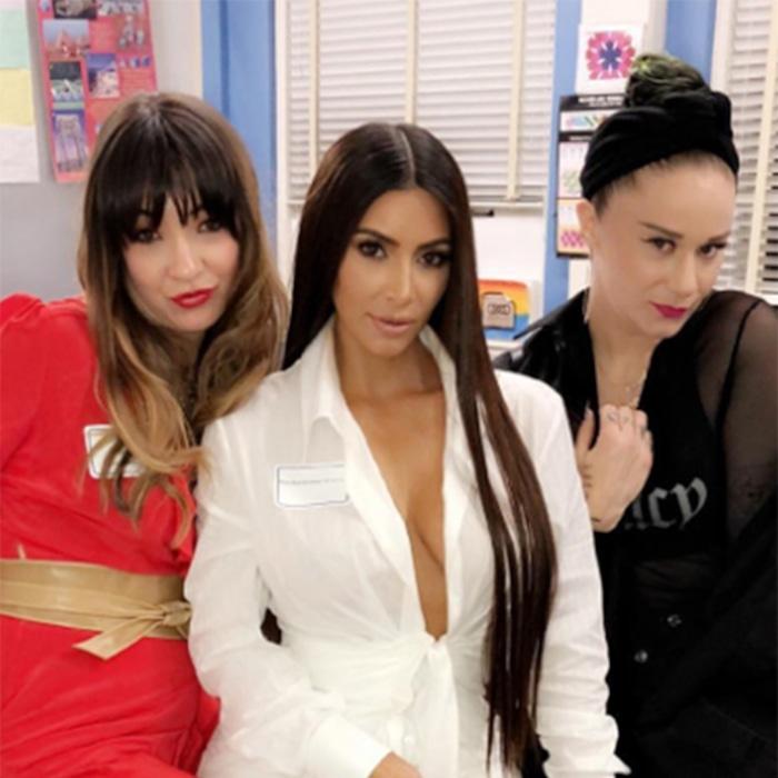95dd6e05ccbf Kim Kardashian Attends Her 20-Year High School Reunion