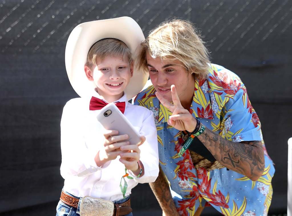 Justin Bieber Stops a Man Who Attacks a Woman at Coachella Bash