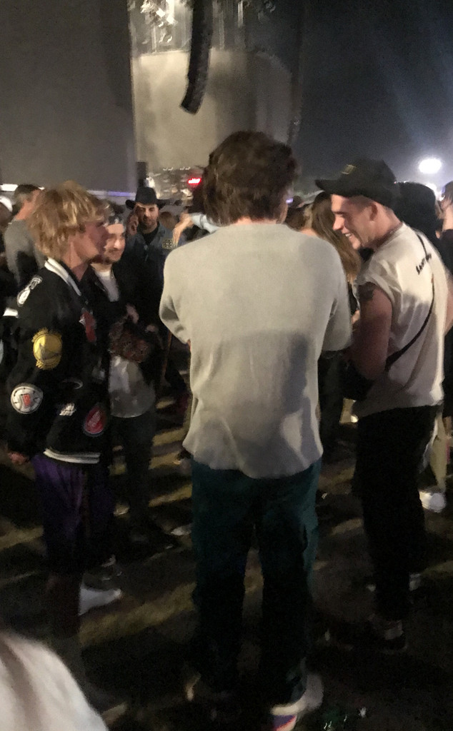 Brooklyn Beckham, Justin Bieber, Coachella, 2018