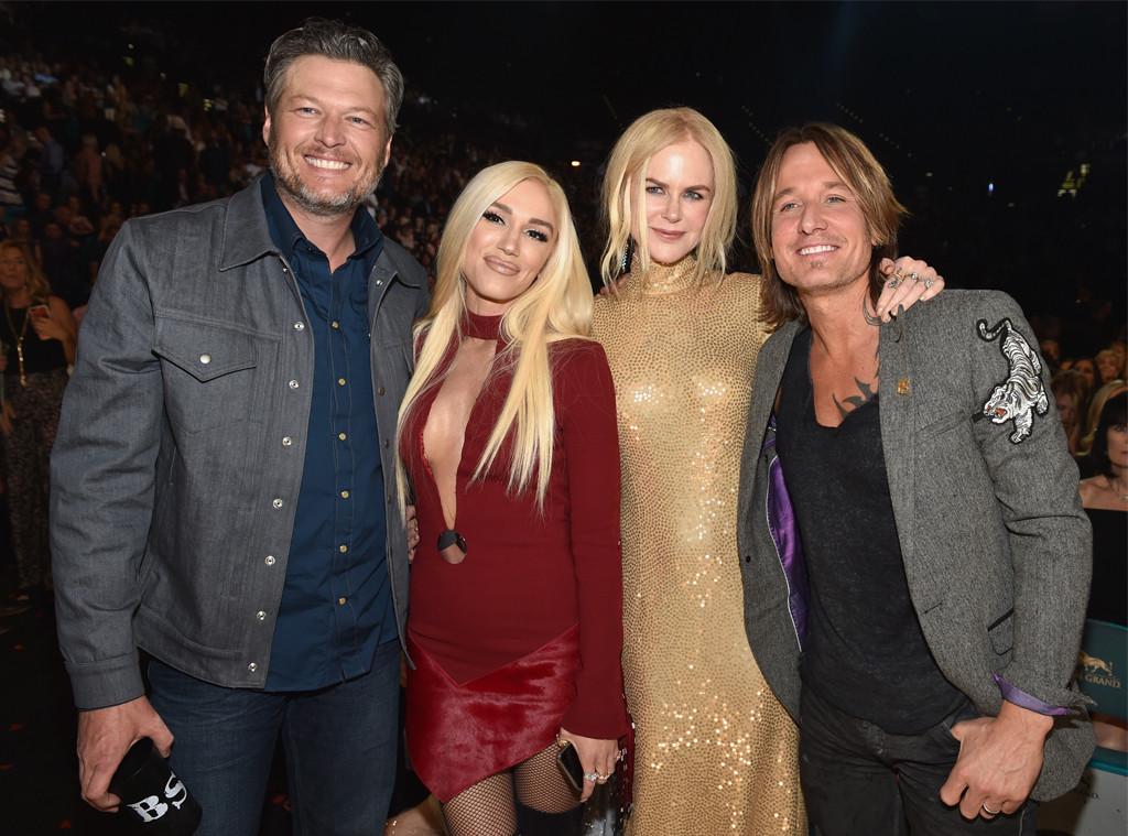 Blake Shelton, Gwen Stefani, Nicole Kidman, Keith Urban, Academy of Country Music Awards 2018, Show