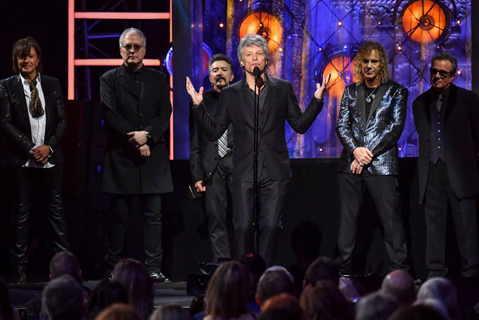 Bon Jovi, 33rd Annual Rock & Roll Hall of Fame Induction Ceremony