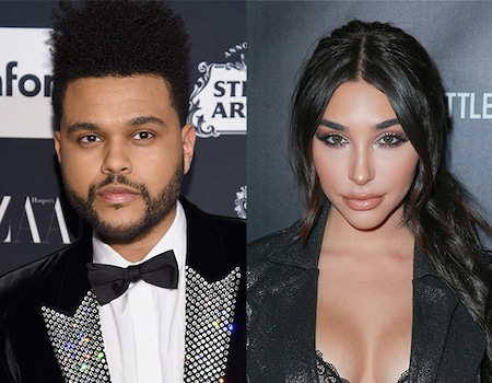 The Weeknd and Chantel Jeffries Show PDA at Coachella 2018