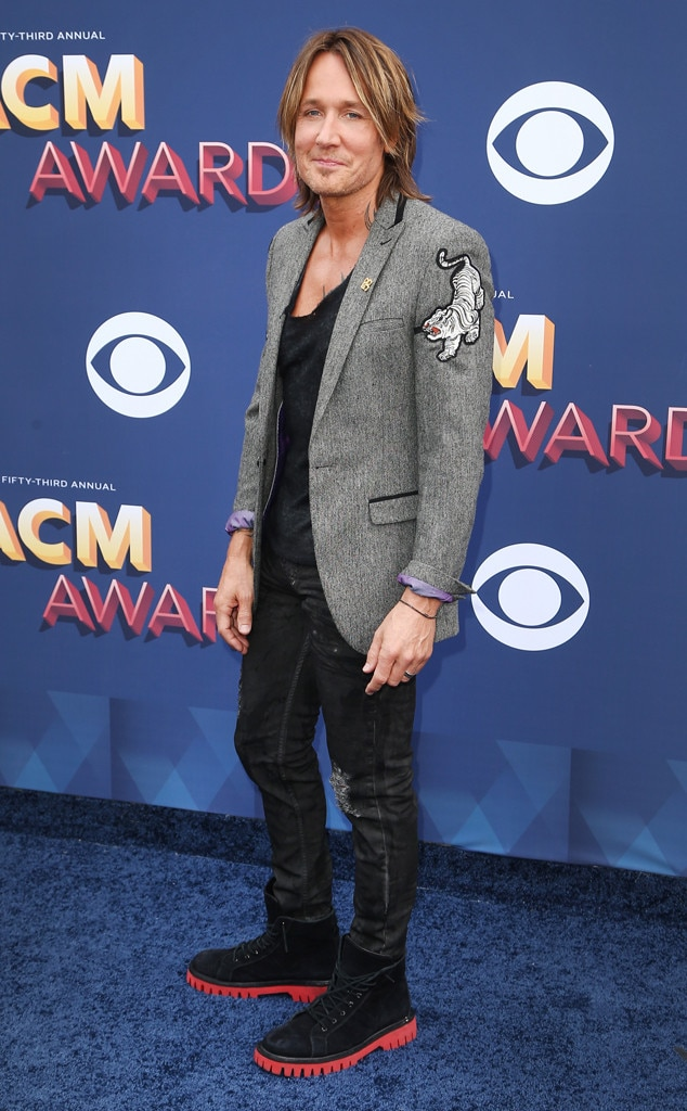 Keith Urban, Academy of Country Music Awards 2018
