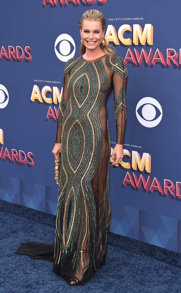 Rebecca Romijn, Academy of Country Music Awards 2018