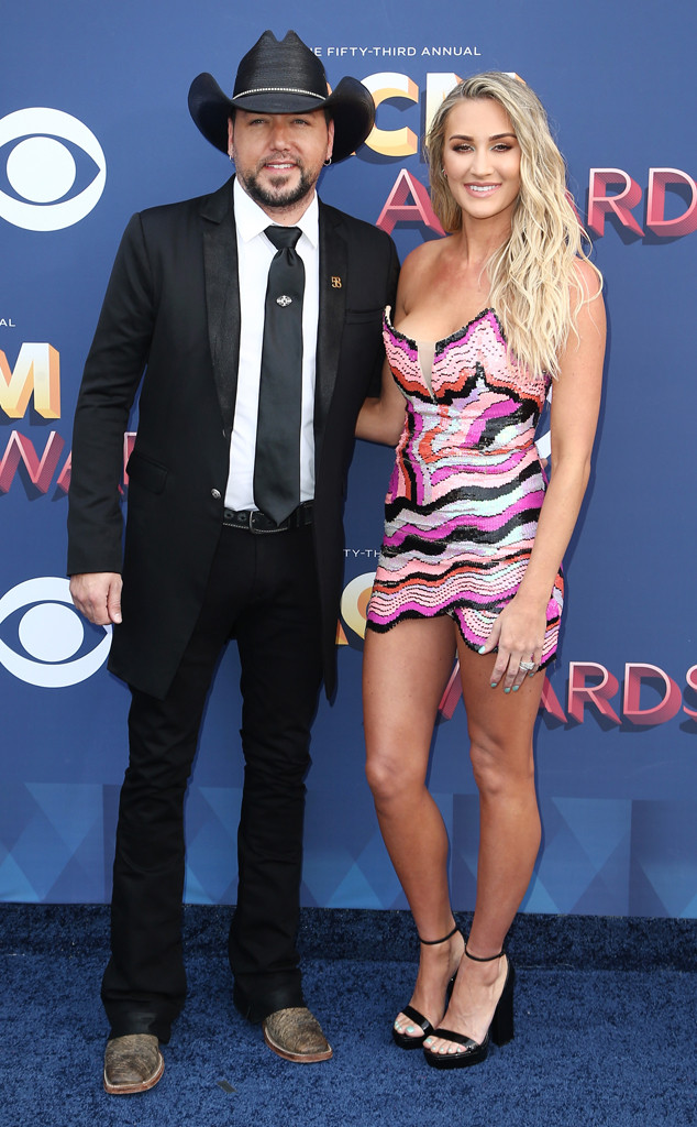 Jason Aldean, Brittany Kerr, Academy of Country Music Awards 2018, Couples