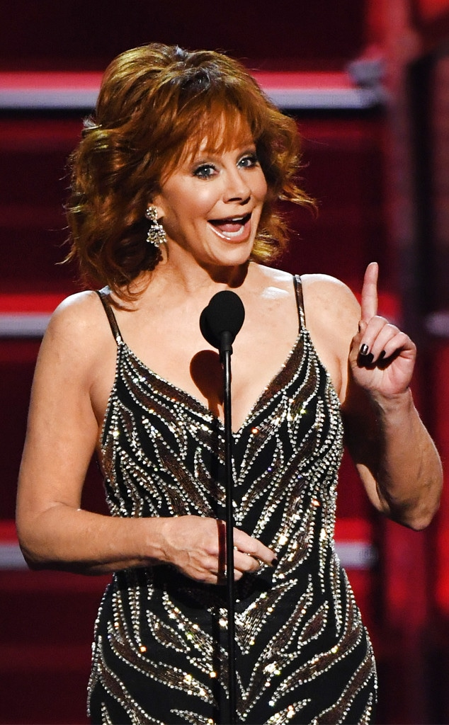 Reba McEntire, Academy of Country Music Awards 2018, Show