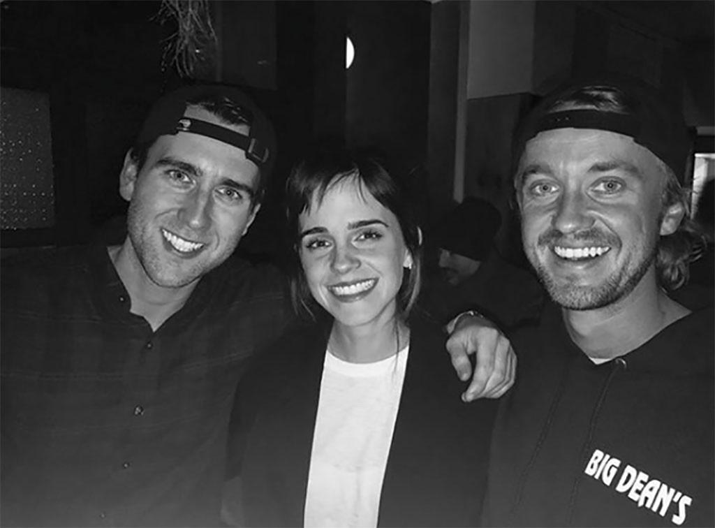 Emma Watson, Tom Felton, Matthew Lewis, Harry Potter