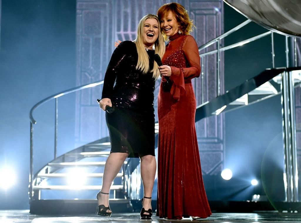Kelly Clarkson, Reba McEntire, ACMAs