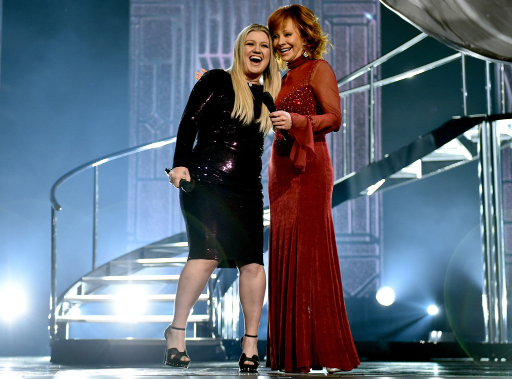 Kelly Clarkson, Reba McEntire, ACMAs, Academy of Country Music Awards 2018