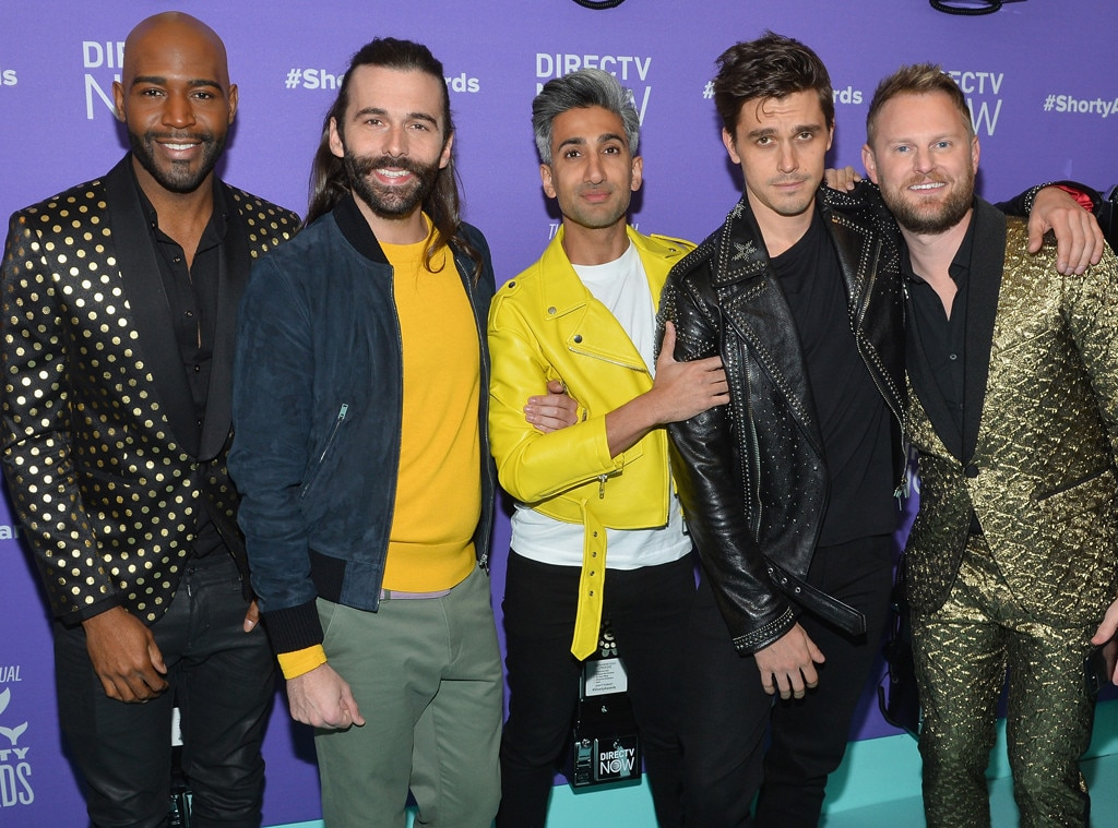 Karamo Brown, Jonathan Van Ness, Tan France, Antoni Porowski, Bobby Berk, Queer Eye