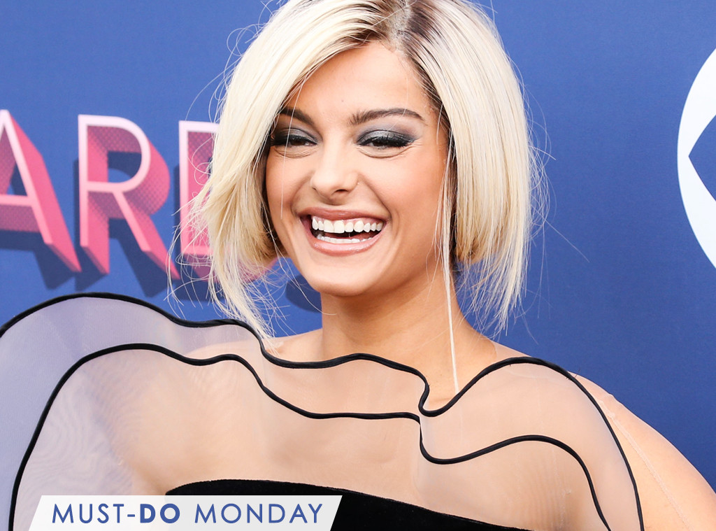 bebe rexha used this 4 hairspray to keep her faux bob in place e