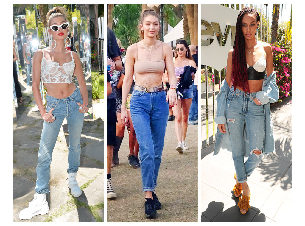 ESC: Coachella Denim Trends