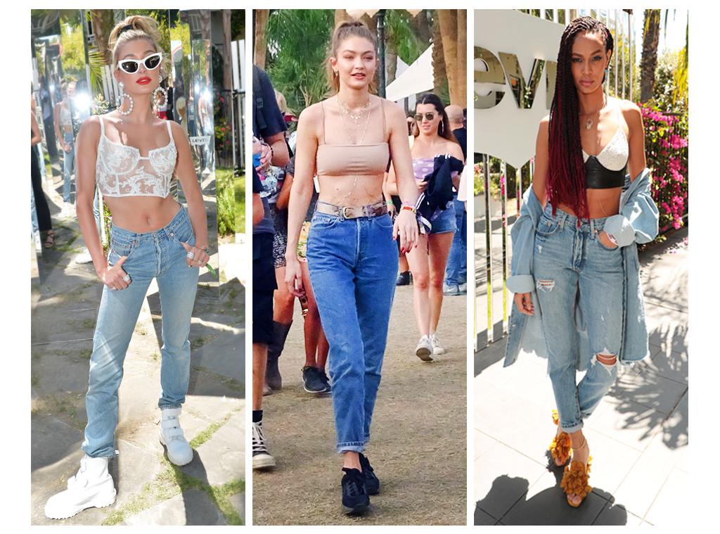 3 Celebrity Denim Trends at Coachella 2018 That You Can Rock ASAP