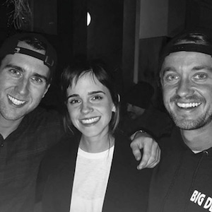 Emma Watson, Tom Felton, Matthew Lewis, Harry Potter