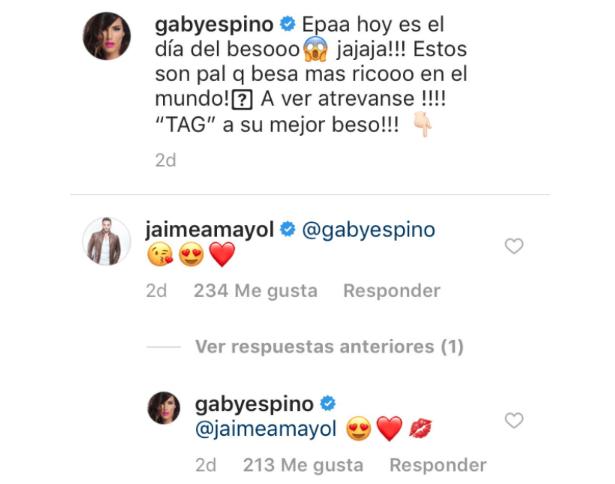 Gaby Espino, Jaime Mayol