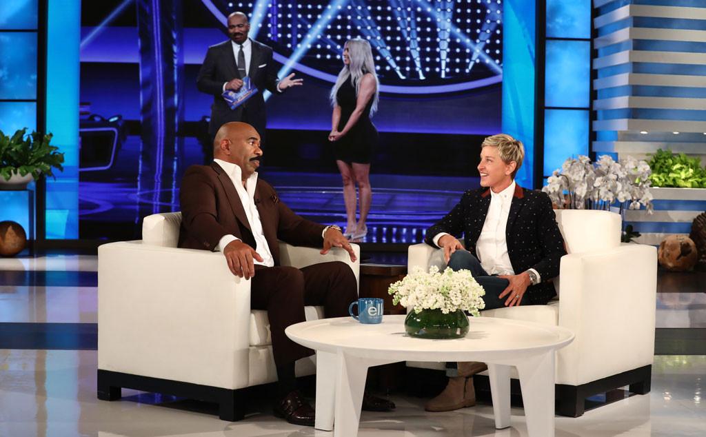 Steve Harvey, Ellen DeGeneres, Kim Kardashian