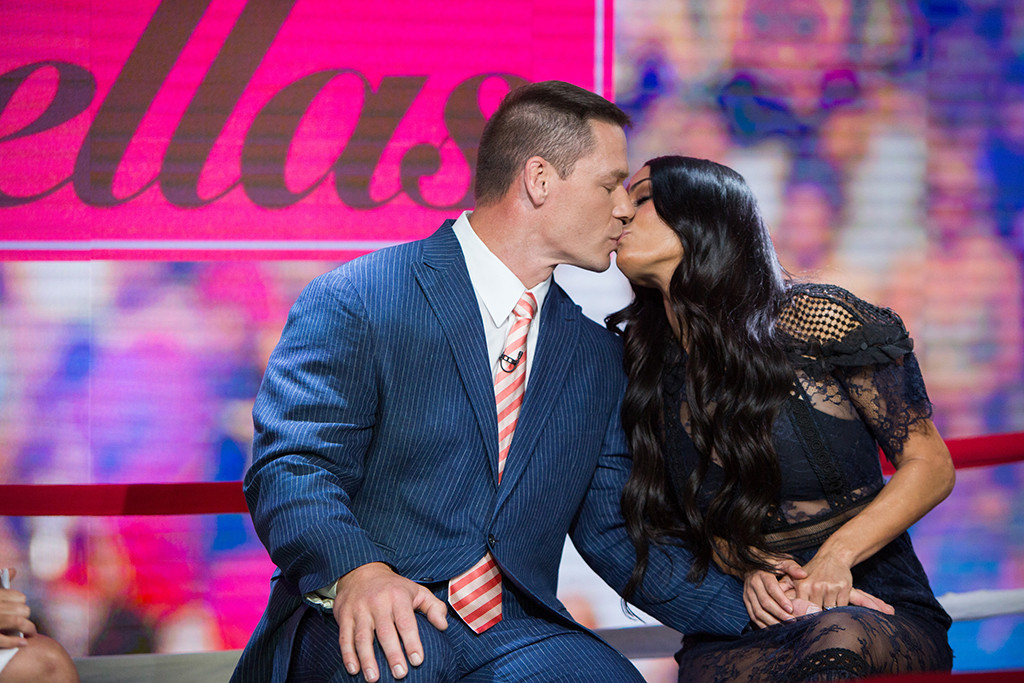 John Cena, Nikki Bella, Today