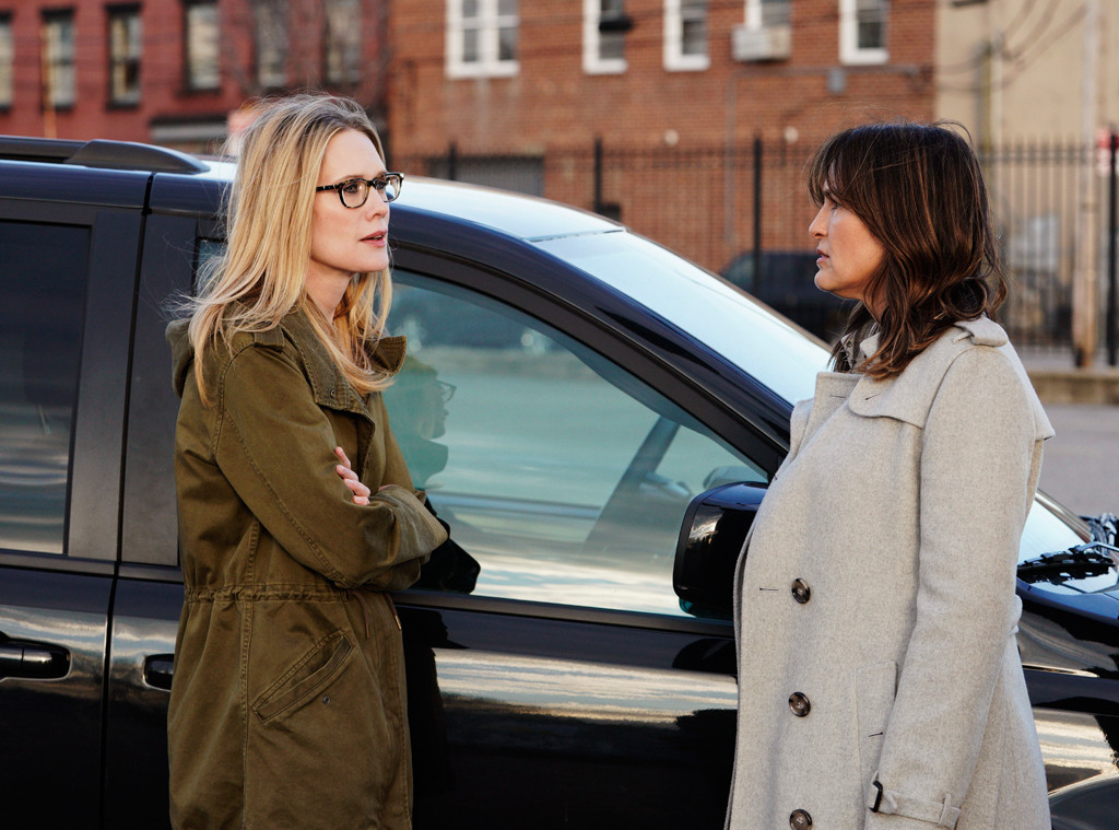 Law and Order: SVU, Mariska Hargitay, Stephanie March
