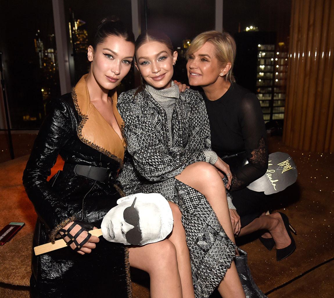 Bella Hadid, Gigi Hadid, Yolanda Hadid
