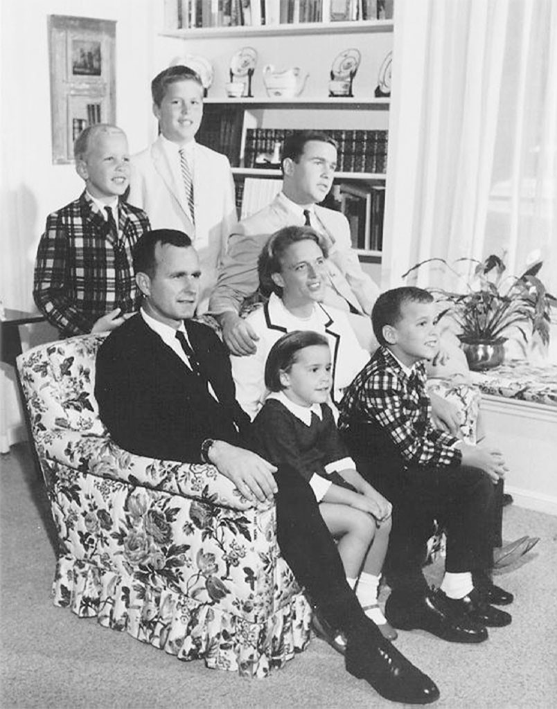 George H.W. Bush, Barbara Bush, John, Neil, Marvin, Dorothy