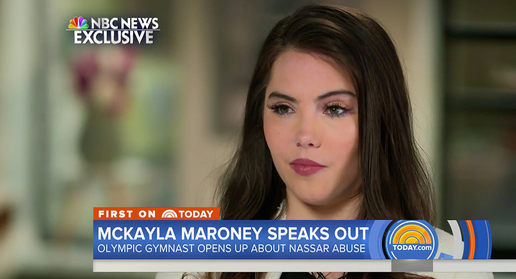 McKayla Maroney, NBC News