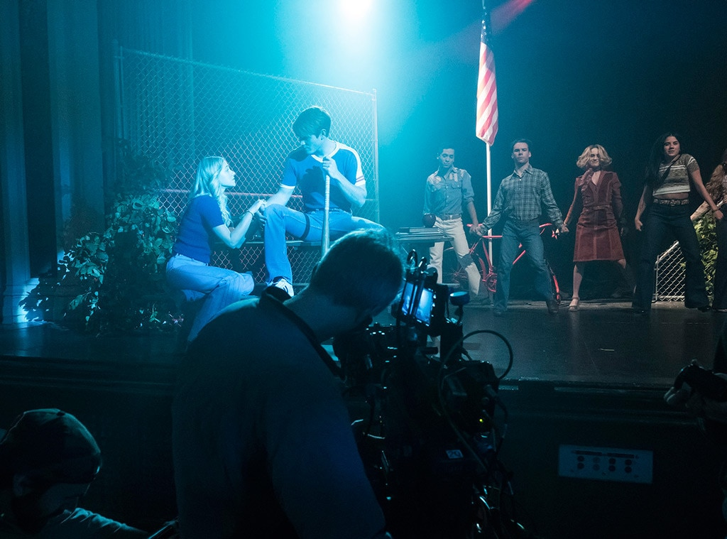 Photo 841790 From Behind The Scenes Of Riverdale S Musical Production Of Carrie E News