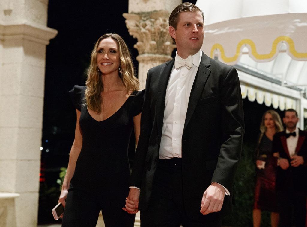 Eric Trump, Lara Trump, Lara Yunaska
