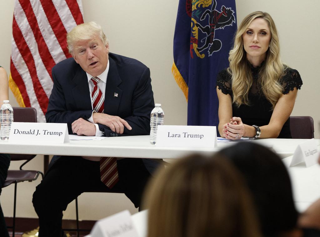 Donald Trump, Lara Trump, Lara Yunaska