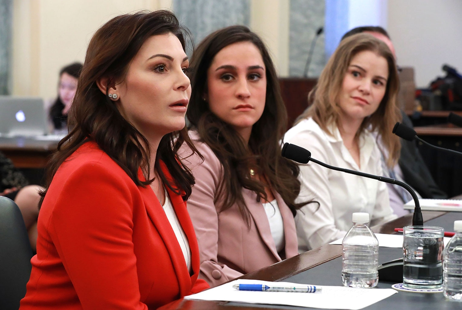 Gymnast Wieber tells Senate panel Nassar abuse began at age 14