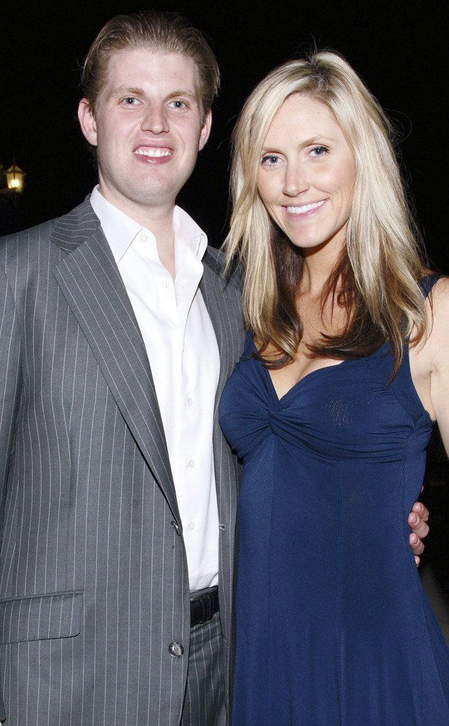 Eric Trump, Lara Trump, Lara Yunaska, 2009