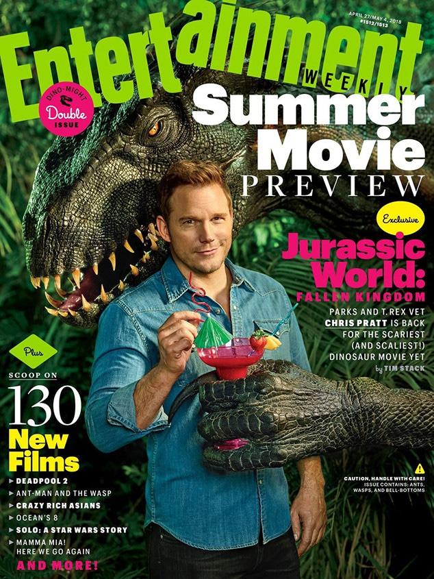 Chris Pratt, Entertainment Weekly