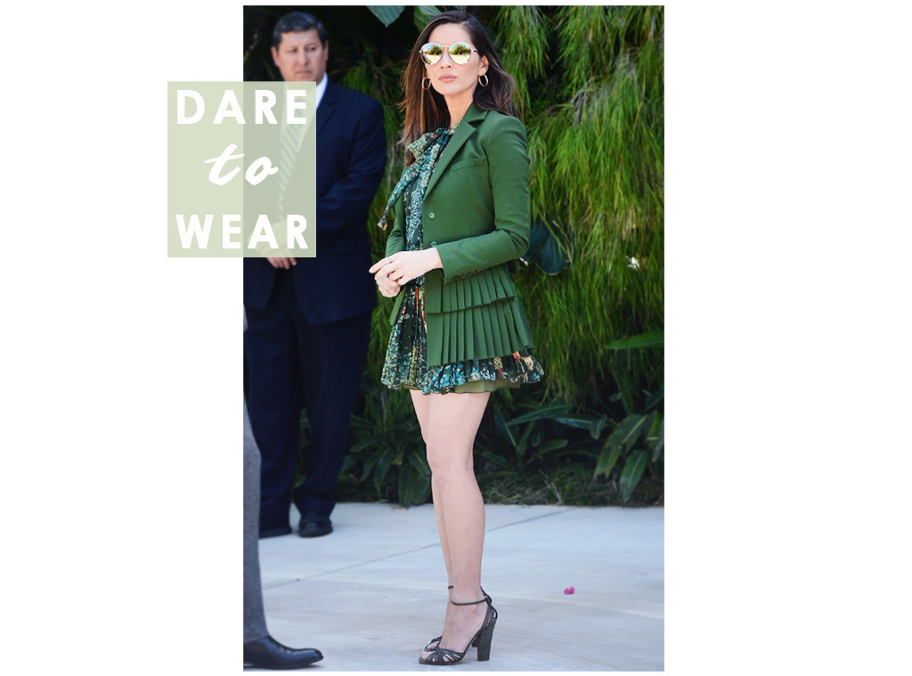 ESC: Dare to Wear, Olivia Munn