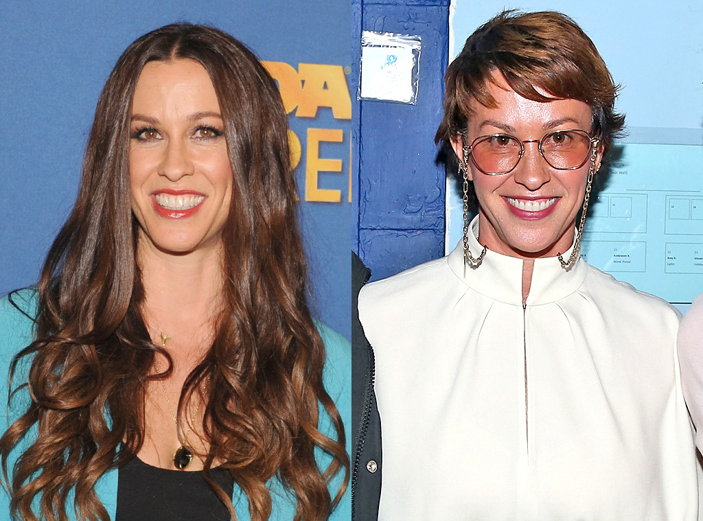 Alanis Morissette Is Almost Unrecognizable With Short Hair