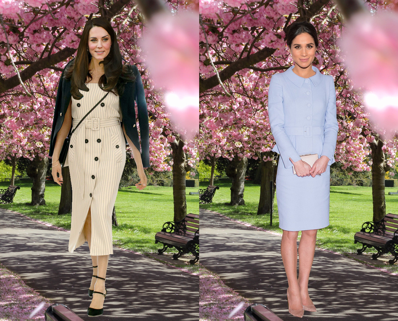 Meghan Markle, Kate Middleton, Outfit Swap, Daytime