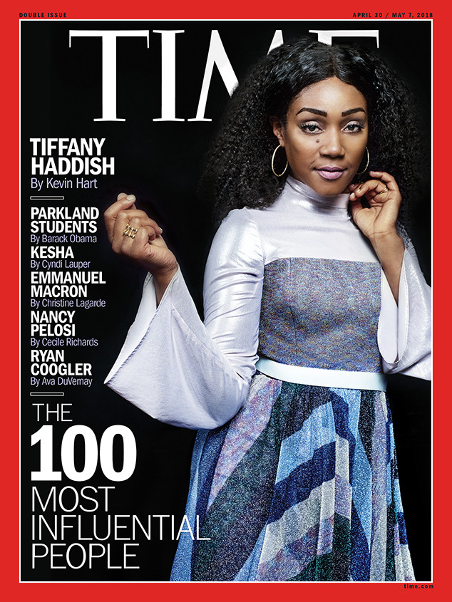 Tiffany Haddish, TIME Magazine