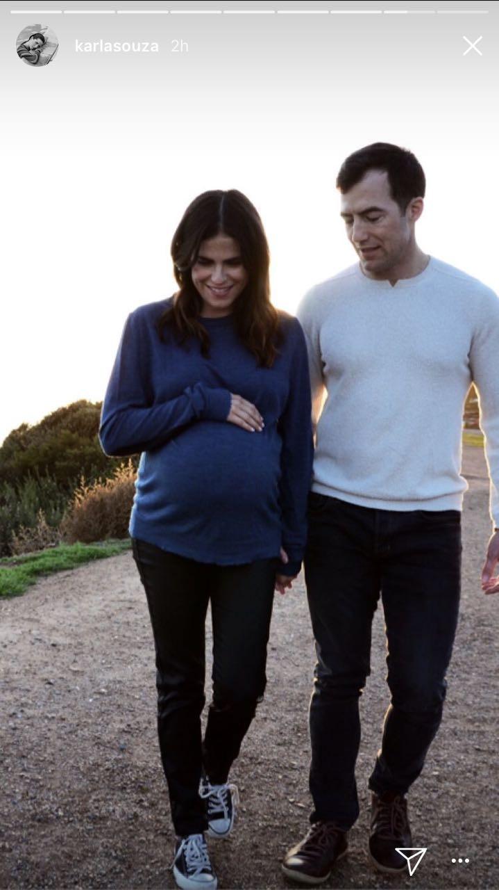 Karla Souza, embarazo