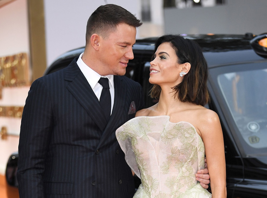 Jenna Dewan & Channing Tatum -  It's impossible not to still get a littleverklempt thinking about these two, what with their meet-cute, and their dance routines, their daughter  Everly ... Gah!