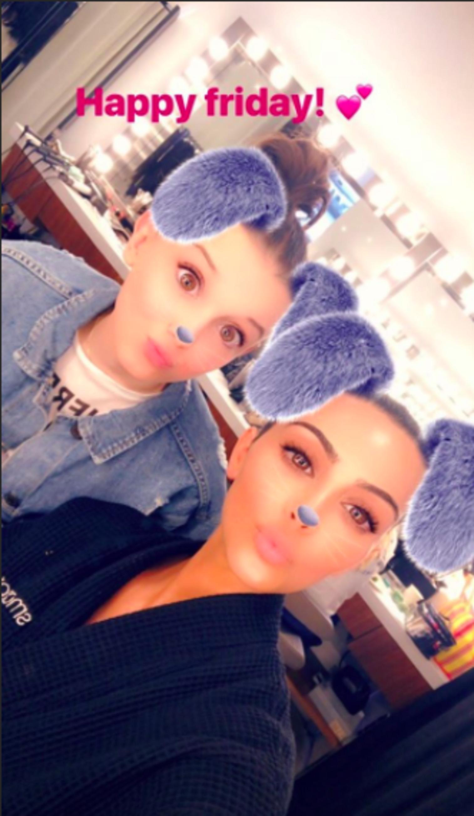 Millie Bobby Brown, Kim Kardashian