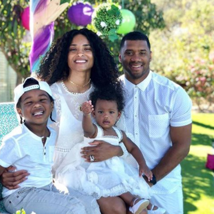 Inside Ciaras Year Of Life And Love Russell Wilsons Daddy Skills