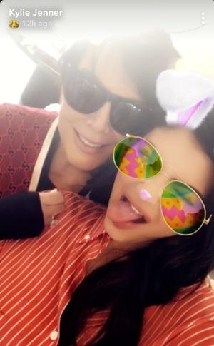 Stormi Webster, Kylie Jenner, Travis Scott, Kardashian Family Easter